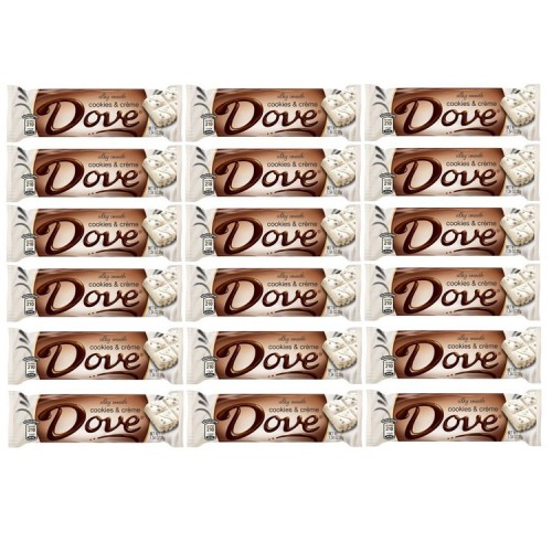 dove cookies and cream bar