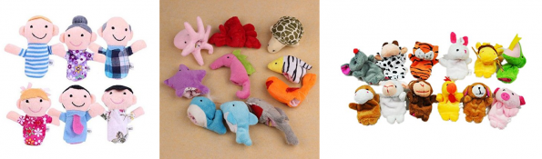 more animal puppets