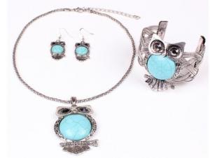 owl jew set