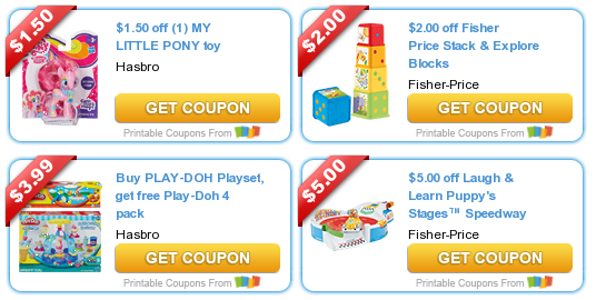 graphic relating to Fisher Price Printable Coupons called Lots of Coupon codes for TOYS! Contains Fisher Selling price, My Small