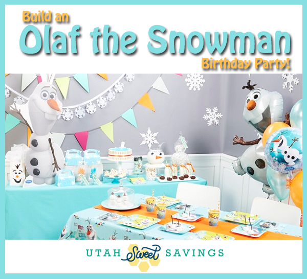 Build An Olaf The Snowman Birthday Party Plus FREE Printable