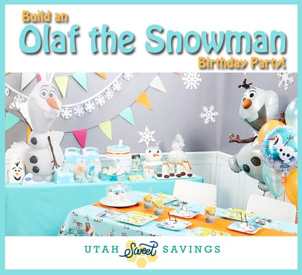 Build an Olaf the Snowman Birthday Party