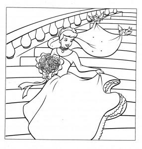 Cinderella-Wedding-Coloring