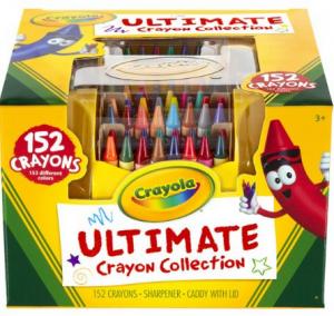 Crayola Ultimate Crayon Case, 152-Crayons