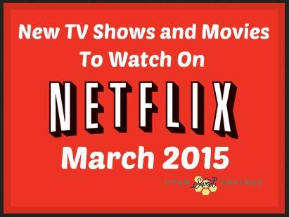 Netflix New March 2015