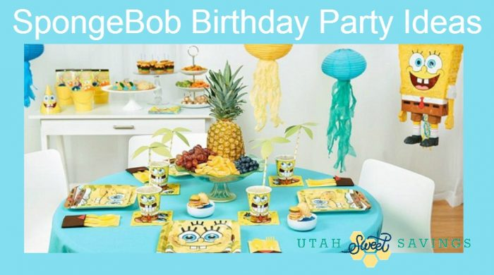 SpongeBob Birthday Party Ideas FREE Spongebob Printable