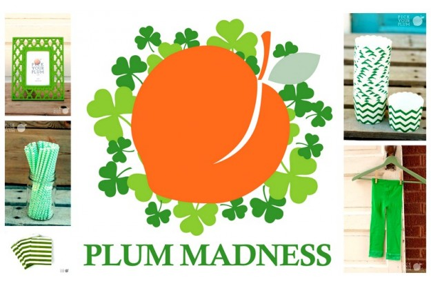St patricks Day pick your plum