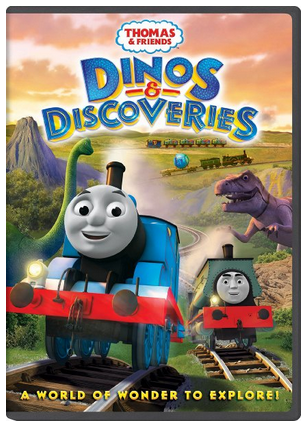 Thomas & Friends Dinos & Discoveries DVD