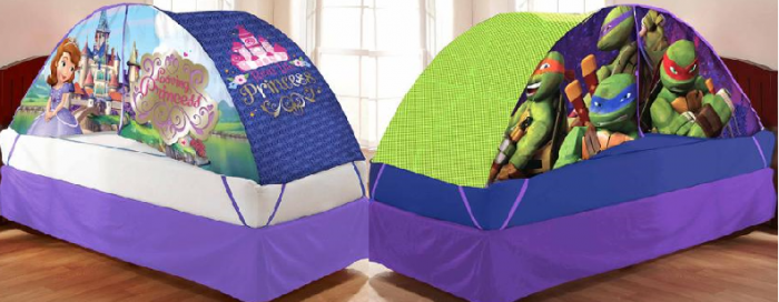 TODAY ONLY* Your Choice Character Bed Tent with Pushlight Starting