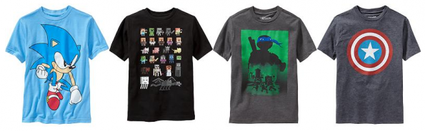 boys old navy graphic tees