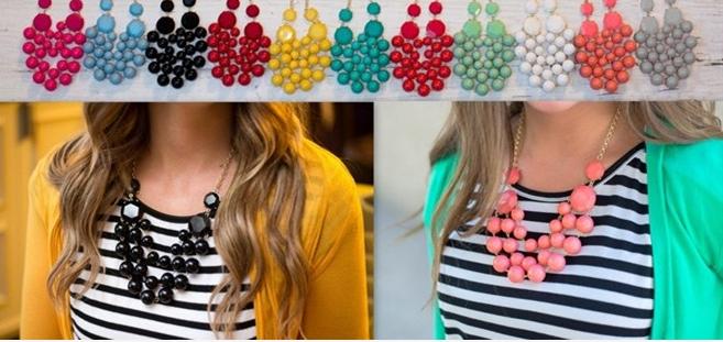bubbble necklace