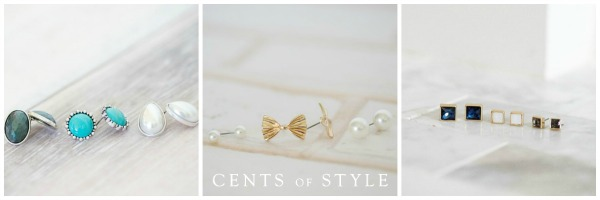 cents of style 3 studs sets