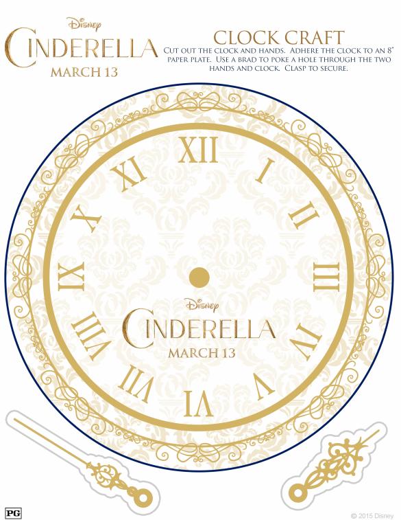 cinderella clock craft