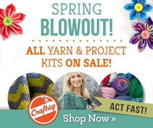 craftsy yard blowout and project kits sale