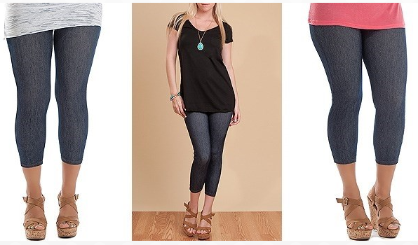 Stretch Denim Capri Legging $7.99 (Reg. $24.99) – Utah Sweet Savings