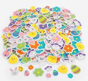 500 Colorful Easter Stickers $14 – Utah Sweet Savings