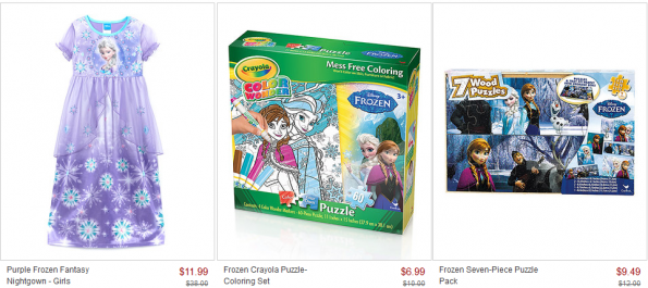 frozen fever zulily collection sale