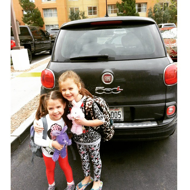 girls with the Fiat