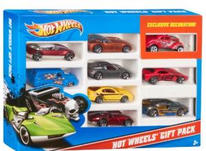 hot wheels 9 car pack