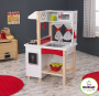 kidcraft red kitchen