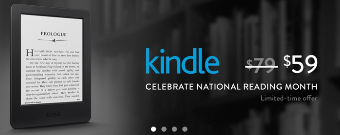 kindle reading month deal