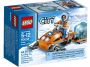 lego city snowmobile