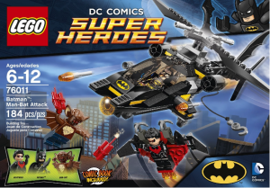 lego dc comic super heros
