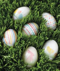 matha stewart easter egg wraps