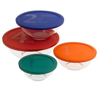 pyrex with lids