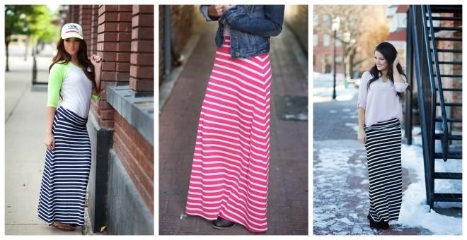0adabc19c Striped Jersey Maxi Skirt Blowout for $8.99! – Utah Sweet Savings