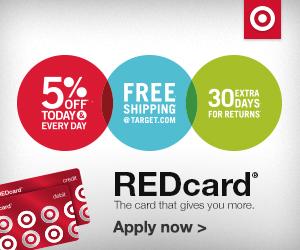 target redcard banner