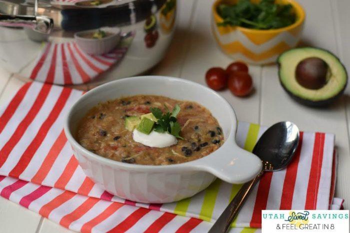 20 Minute Chincken Enchilada Soup