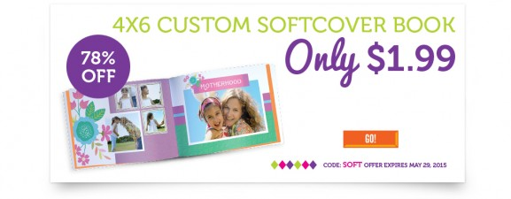 4X6 Custom Softcover Photo Book