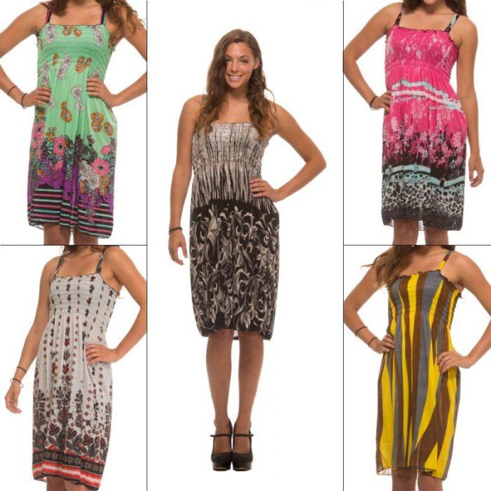 5 pack summer dresses