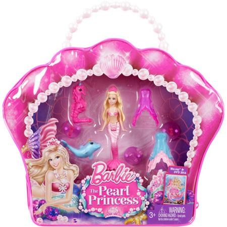 Barbie Pearl Princess Small Doll Play Set For 6 18 Reg