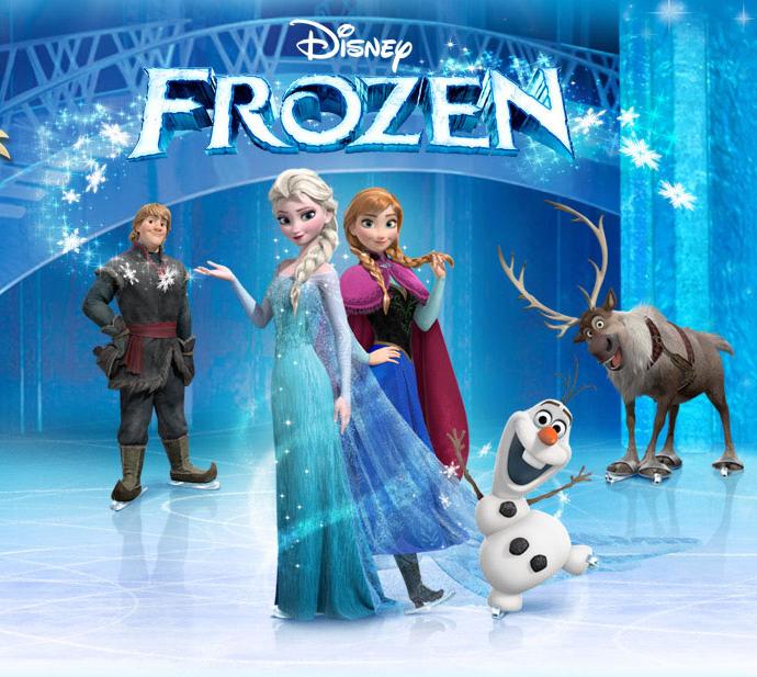Disney on ice Frozen Utah