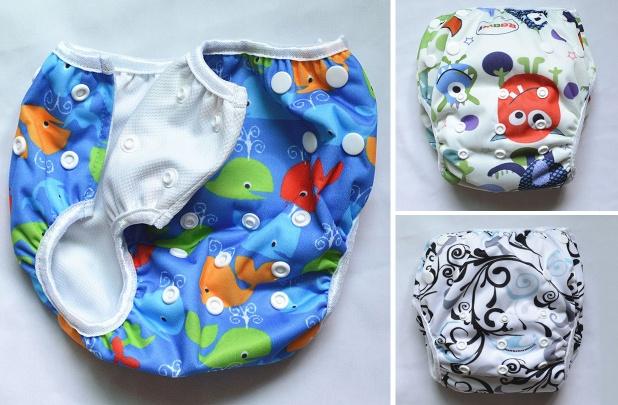 Eco-Friendly Reusable Swim Diapers