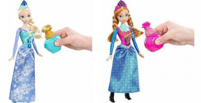 Elsa and Anna Doll
