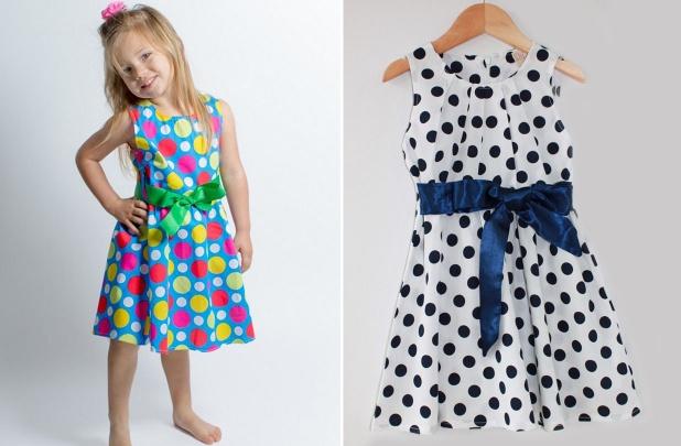 Girls Polka Dot Dresses