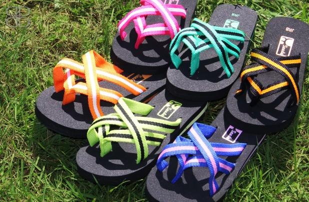 Kids Sande Multi-Strap Flip Flops - 6 Colors!