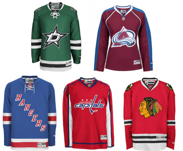 newest collection 73e43 243a3 Reebok Officially Licensed NHL Jerseys $8.99 – $35.99 + Free ...