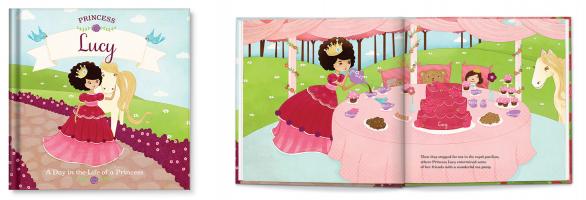 Princess Personalized Book