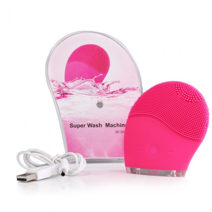Sonic Facial Cleansing Silicone Brush 1