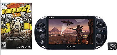 Sony - PlayStation Vita (Wi-Fi) Borderlands 2 Limited Edition Bundle - Black