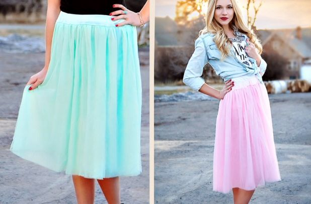 Spring Tulle Skirts