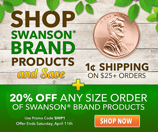 Swanson vitamin coupons discounts