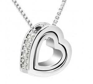 Swarovski Eternal Heart Necklace