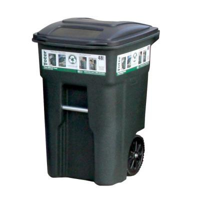 Wheeled Trash Can Cart