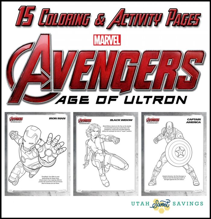 15 free printable marvel avengers coloring u0026 activity pages plus