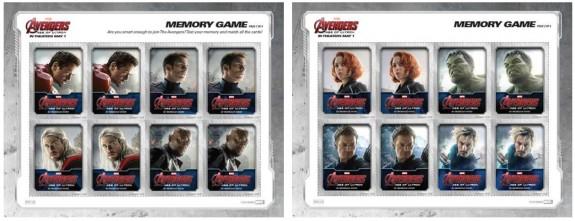 avengers memory game